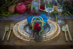 Jewel-Toned Fall Styled Shoot on Borrowed & Blue - NuBlu Events featured for our Fall Styled Shoot with @spikaphotogrphy