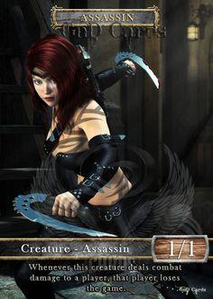 3X Assassin 1 Custom Altered Tokens for Vraska The Unseen | eBay