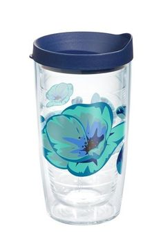 On Trend Poppy Cool 16 Oz. Tumbler with Lid