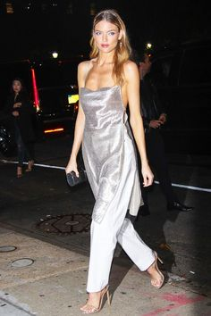 See why celebs are swapping out their nude heels for metallic ones, and shop our very own affordable version.