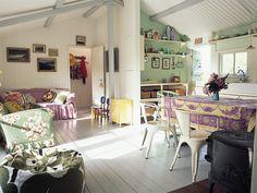mandarine: Nordic Style [Helle HØgsbro house] lilac + mint, love!!