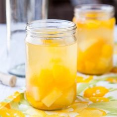 Since I don't drink alcohol, I wonder if I could substitute Sprite, 7-Up or Ginger Ale and still have the taste effect? Peach Mango Pineapple Sangria by Averie