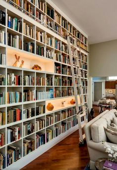 Bookshelf Wall Floor To Ceiling Bookshelves.Top 70 Best Floor To Ceiling Bookshelves Ideas Wall . DIY Built In Bookshelves How To Build A Window Seat . Furniture: Floor To Ceiling Bookshelves For Help You . Home and furniture ideas is here Wall Bookshelves, Bookshelf Design, Bookshelf Ideas, Bookcases, Book Shelves, Book Storage, Glass Shelves, Library Shelves, Library Ladder