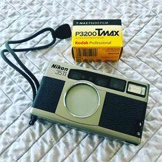 #ThrowbackThursday | Nikon 35Ti + Kodak P3200 TMax Vlogging Equipment, Camera Equipment, Camera Nikon, Camera Gear, The Best Films, Photography Equipment, Filmmaking, Youtube, Movie Theater