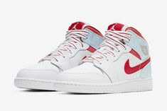 ae0b24bd02e40 Air Jordan 1 Kids Topaz Mist Release Date - Sneaker Bar Detroit