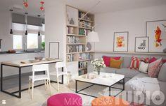 mieszkanie dla mlodych - zdjęcie od MIKOŁAJSKAstudio - Salon - Styl Nowoczesny - MIKOŁAJSKAstudio