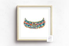 Tribal Canoe Art Print sold by Mucky Ink. Shop more products from Mucky Ink on Storenvy, the home of independent small businesses all over the world.