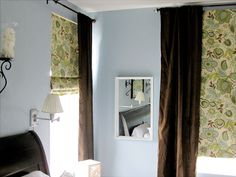 Create custom roman shades from ugly cheap mini blinds, a great mini-blind makeover
