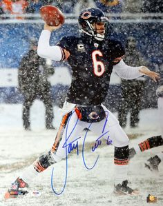 Jay Cutler Autographed 16x20 Photo Chicago Bears PSA/DNA Stock #102507