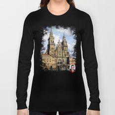 Catedral de Santiago de Compostela/Santiago de Compostela Cathedral Long Sleeve T-shirt