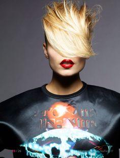 Ceec Design Smokin' Hot #makeup red lips