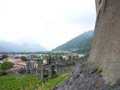 """Castelgrande"", Bellinzona Ticino Swiss"