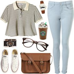 With black jeans, black Chucks too Indie Hipster Fashion, Hipster Outfits, Casual Summer Outfits, Outfits For Teens, Cute Outfits, Hipster Clothing, Pretty Outfits, Hipster Accessories, Clothing Accessories