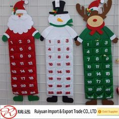 Exclusive Custom Santa Claus Felt Advent Calendar For Christmas Home Decoration - Buy Felt Advent Calendar,Custom Santa Calendar,Calendar For Christmas Decoration Product on Alibaba.com