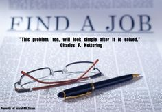 """This problem, too, will look simple after it is solved."" Charles F. Kettering ‪#‎easygoals‬ 
