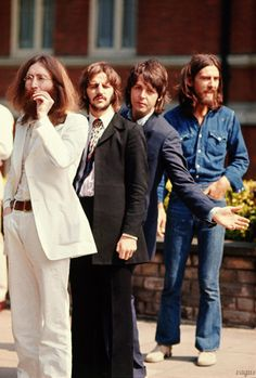 The Beatles - Abbey Road cover shoot, August 8th 1969