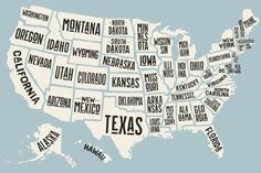 Map of United States of America by Foxys Graphic on can find 50 states and more on our website.Map of United States of America by Foxys Graphic o. United States Map, U.s. States, Map Of States, United States Outline, 50 States Of Usa, Diy Usa, Iowa, Road Trip, Usa Tumblr