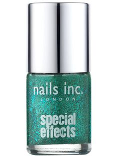 10 Best Sparkly Nail Polishes for Holiday Festivities: Ahhhh… Nails Inc. Special Effects in Fitzroy Square, $9.50, Sephora.