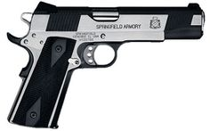 Springfield 1911 Loaded .45. Yes, please!