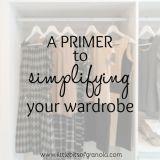 Primer to Simplifying Your Wardrobe