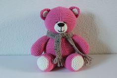 ༺༺༺♥Elles♥Heart♥Loves♥༺༺༺ ........♥Crochet Amigurumi♥........ #Amigurumi #Patterns #Crochet #Softies #Childrens #Toys #Handmade #Teddy #Doll #Tutorial #Patterns #Collectable~ ♥Creations by Doorns Amigurumi Bear