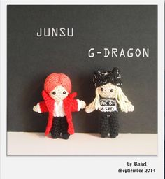 #amigurumi Junsu, G-Dragon