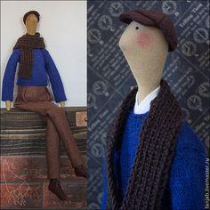 Джордже - тильда кукла,тильда мальчик,тильда в подарок,подарок мужчине