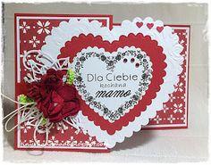 Hardcorowy zawrót głowy u Ewy Handmade Birthday Cards, Handmade Cards, Frame, Decor, Craft Cards, Picture Frame, Decoration, Diy Birthday Cards, Decorating