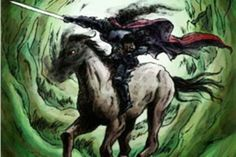 The Dullahan, a foreteller of death, is the Irish version of the headless horseman.