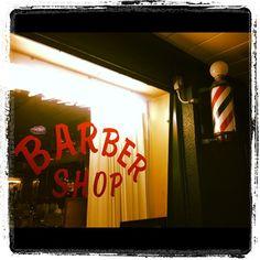 Vintage barber shop