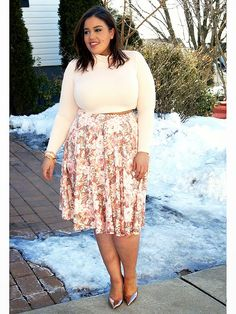 Plus Size Fashion - Inside Allie's World: Shopping Your Own Closet