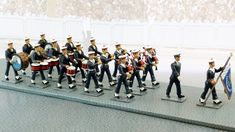 réf. CBG 5772 Mus Toy Soldiers, Collection, Bass Drum, Soldiers
