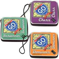 Magnet Game Sets Fit For Travel (even grown-ups get bored on planes)