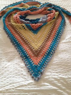 The Lydia Shawl By Denise Crawford - Free Crochet Pattern - (ravelry)