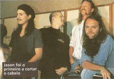 ☆ fotos jameson y klars ☆ - Metallica Band, Jason Newsted, Master Of Puppets, Ride The Lightning, Kirk Hammett, James Hetfield, Thrash Metal, Guy Names, Actors & Actresses