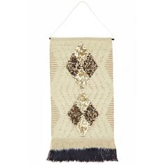 Pailette Wall Hanging | Calypso St. Barth