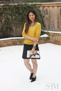#CAbi - Fashion blogger looks glamorous in CAbi and her fans think this is one her best outfits yet!