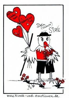 happy valentinsday - Alles Liebe zum Valentinstag - www.kunst-und-emotionen.de