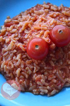 Risotto al pomodoro - Tomato Risotto - Loveateverybite