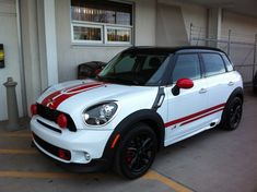 Countryman Red JCW Sport Stripes – 03