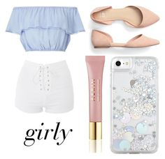 """Girly"" by churchgirl1205 ❤ liked on Polyvore featuring Skinnydip, Miss Selfridge, Topshop and AERIN"