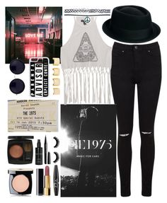 """⚪THE 1975⚪"" by niamtz on Polyvore featuring Miss Selfridge, ASOS, The Row, NYX, Chanel, Kendall + Kylie, Marc Jacobs, Wet Seal, Bobbi Brown Cosmetics and CellPowerCases"