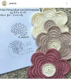 Flower Power Dishcloth pattern by Doni SpeigleFlower Power Dishcloth is made using worsted w...