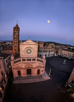 Grosseto Aerial view    #TuscanyAgriturismoGiratola