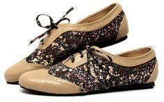 sapatos estilo oxford estampado feminino - Pesquisa Google