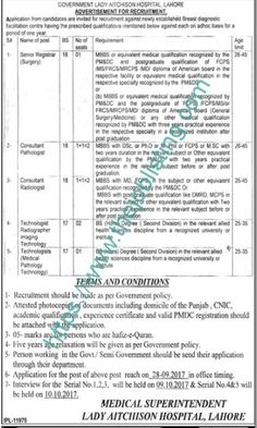 Ayub Teaching Hospital Jobs  In Abbottabad For Director Hr