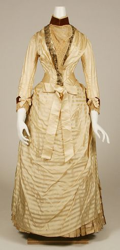 Dress  1886  The Metropolitan Museum of Art