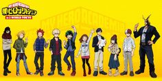 They all look super cute and / or cool. I mean, Aizawa in a cozy sweater and scarf? All Might in really cool clothes? That's a dream come true. (Also, can I please headcanon that Inko knitted that sweater for Aizawa and he found it so cozy and warm...