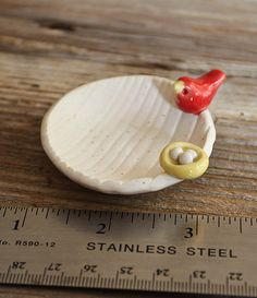 Love these tiny bowls by Tashamck!