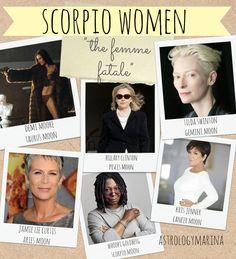 Scorpio celebrities list